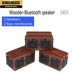 KINGNEED S403 Wooden Bluetooth speaker