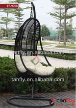 2015 hot garden rattan wicker swing chair