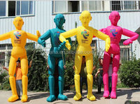 Factory direct sale multicolor inflatable doll