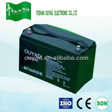 Recharge battery 12V100Ah sealed lead acid battery