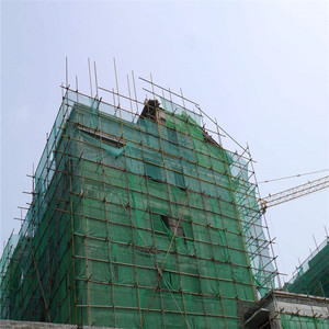 HDPE fire retardant safety construction mesh/green construction safety net for building protect