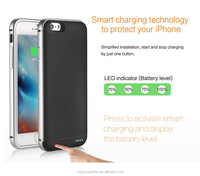 2016 hot selling smart battery charger for phone case, battery charger case for iphone 6, battery case for iphone 6s