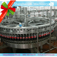 small bottle carbonated drink canning machine