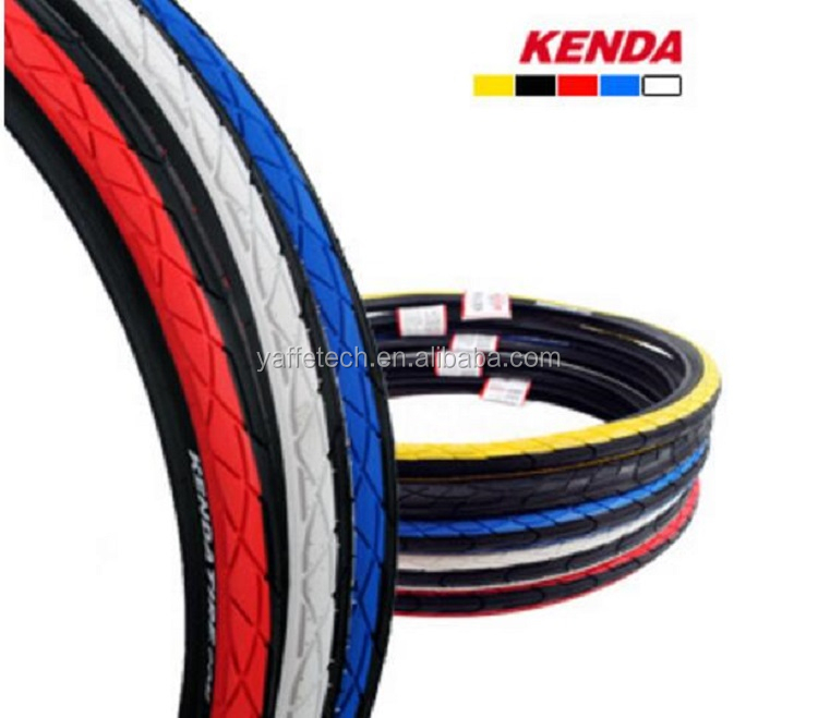 colorful bicycle tire 24x1.95 26x1.95 28x1.75 700x45c 700x38c, Rubber Bicycle Tire 24x2.125 26x2.125 20x2.125 for KENDA tires