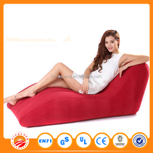 Hot Sale high quality Inflatable flocked lounge sofa air lounge sofa