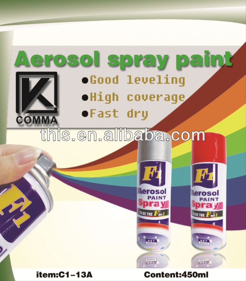 450ml Multi Colors Acrylic blue pearl paint