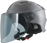 UV sun protection Summer Helmet with dual visor half face motorcycle helmet for sale