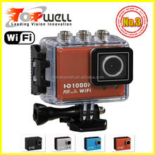 2014 Hot 5.0 Mega H.264 1920*1080 1080P Full HD 1.5'' Screen WIFI Sports Camera