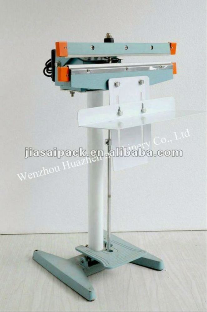 plastic bags sealing machine direct heat sealer PFS-650 foot press machine impluse sealing machine