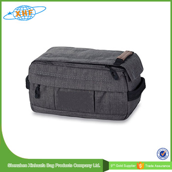 fashion polyester toiletry bag