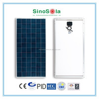 Reliable,25 years warranty,16% efficiency pv module poly 160w for on/off-grid solar system