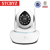 Professional two-way voice sd card storage CMOS p2p wifi wireless ip camera