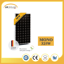 New Product AE SMM6-72 Series 325W-350W Sun Mono Solar Panel With Great Frame Mount Made In China