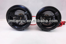 china best price heart face speakers for motorcycle audio