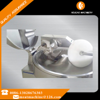 125 Liters Bowl Cutter Sausage Chopper for meat shop and meat factory