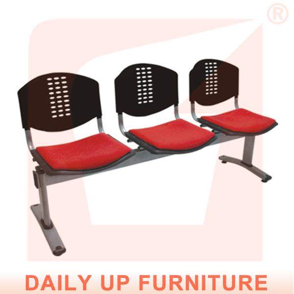 P blico plazas 3 acolchada silla enlace sillas de espera - Sillas de espera para peluqueria ...