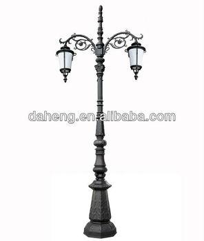 Decorative antique outdoor lighting pole garden post light and decorative antique outdoor lighting pole garden post light and lantern dh 340019 mozeypictures Images