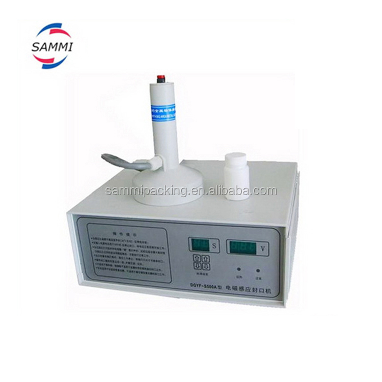 Manual Induction Screw Thread Cap Sealer for sealing aluminium foil with bottle material like <strong>PP</strong>,PET,HDPE