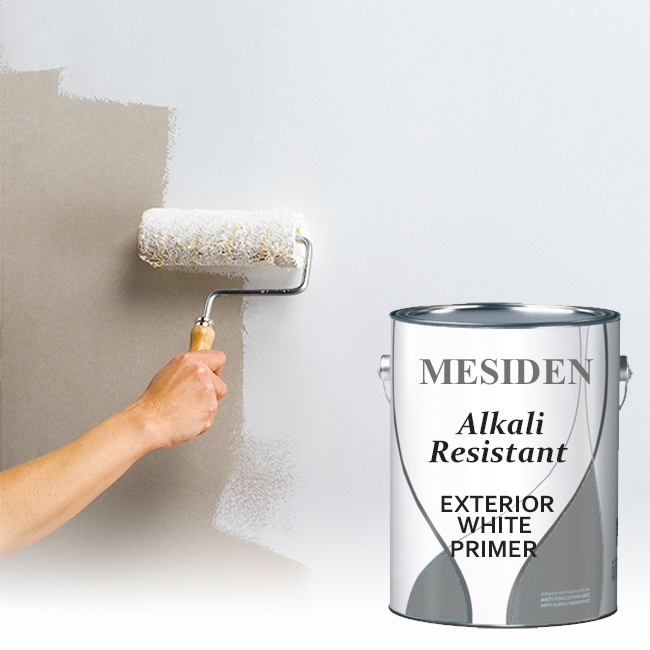 High Hiding All Purpose Primer Alkali Resistant Exterior White Primer