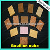 Direct factory supply curry bouillon cubes with OEM available