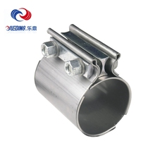 Factory Direct Sales Of Muffler Clamp Sizes Stainless Steel Pipe Band Clamps Single Ear Hose Clamp