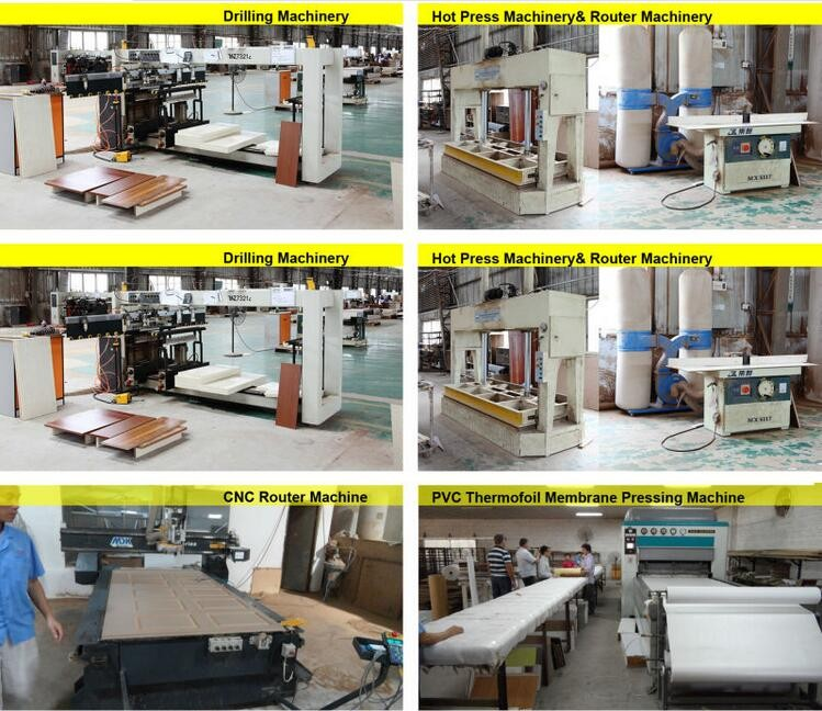 Hot-selling Waterproof cabinet door assembly machine with kitchen cabinet supplier