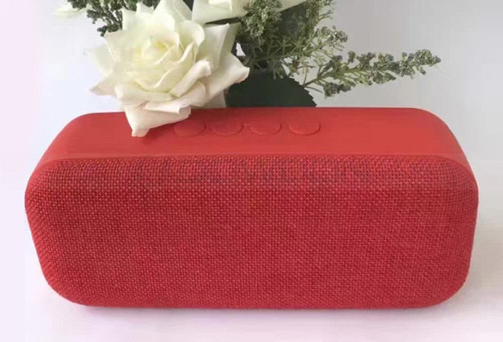 Portable Cloth Bluetooth Wireless Speaker 5W High Sound Quality Desk Speaker