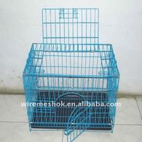 Light and handy metal dog cage
