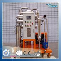 YUNENG ZJC Series Vacuum Lubrication Oil Filter System/ Compressor Oil Recycling Machine