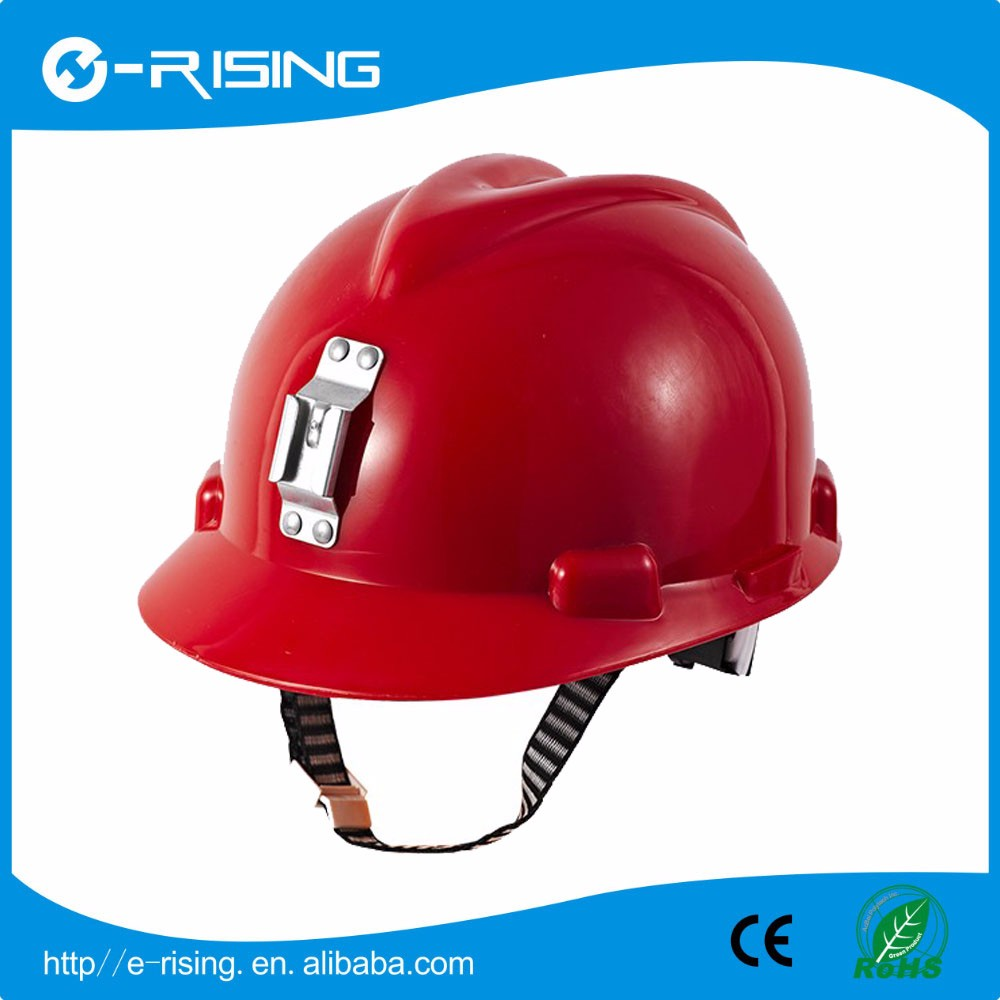 PE High Quality Protective Miner Safety Helmet for Industrial and Mine District