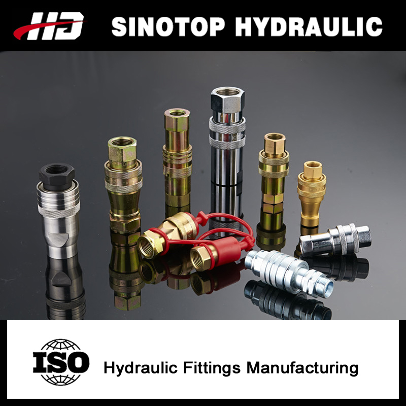 hydraulic flexible fuel quick release shaft coupling