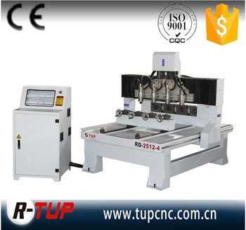 RD2512-4 CNC 4 Axis CNC Router