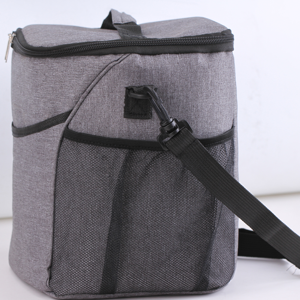 2017 insulated cooler bag nylon picnic cooler bag beer wine cake foods thermal lunch cooler bag