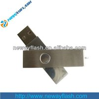 Promotion swivel usb drive with your company logo for gift