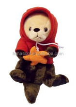 HI CE hot custom plush toy, plush sea otter toys sea animal plush toys