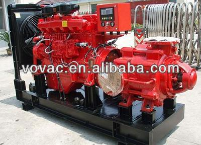 Hotsale!!! Multistage Diesel Fire Fighting Pump For Fire Protection System