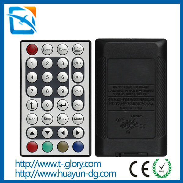 High quality IR 24 keys long range ir remote control RGB LED Controller