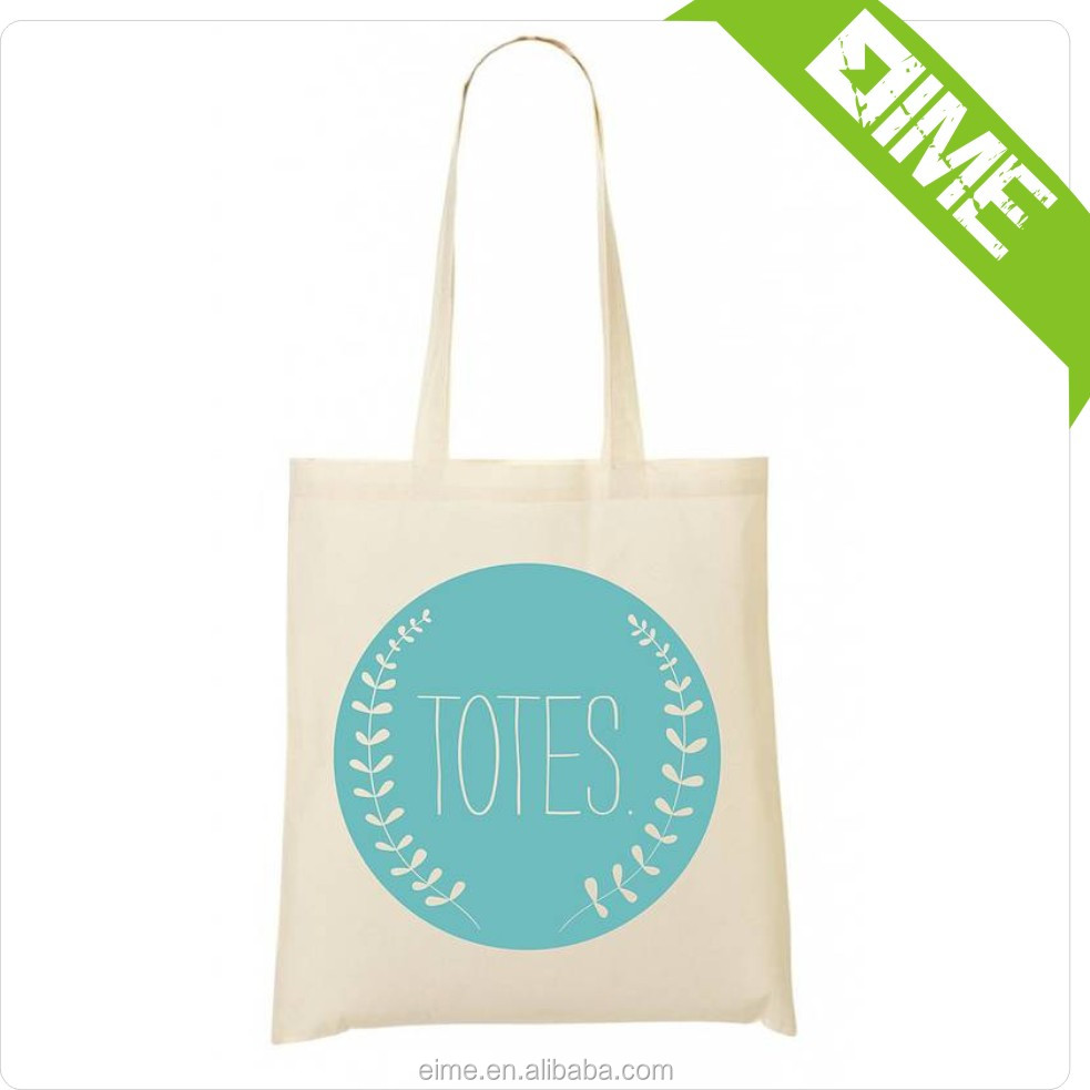 Affordable Price Custom Printed Logo Cotton Jersey Tote Bag Supplier