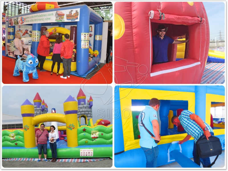 160926163 Outdoor football Inflatable games for adults