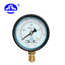 Customized supplier Y60 1.6MPa high air pressure gauge manometer