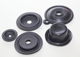 Custom molded oil resistant Neoprene Nitrile rubber diaphragm/membrane for pump/machine