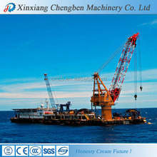 China manufacturer 1-20 tons Floating Crane Barge used in port