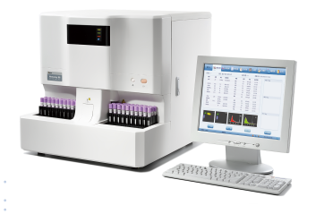 fully automated hematology blood analyzer hemaray86 5 part cell counter, 28 Parameters, CE ISO Certificated