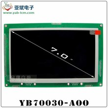 "7"" OLED like effect TFT LCD Module with controller and RS232/ RS485/ TTL interface"