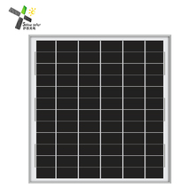 12v small solar cell poly solar panel 20w low wattage for solar street light