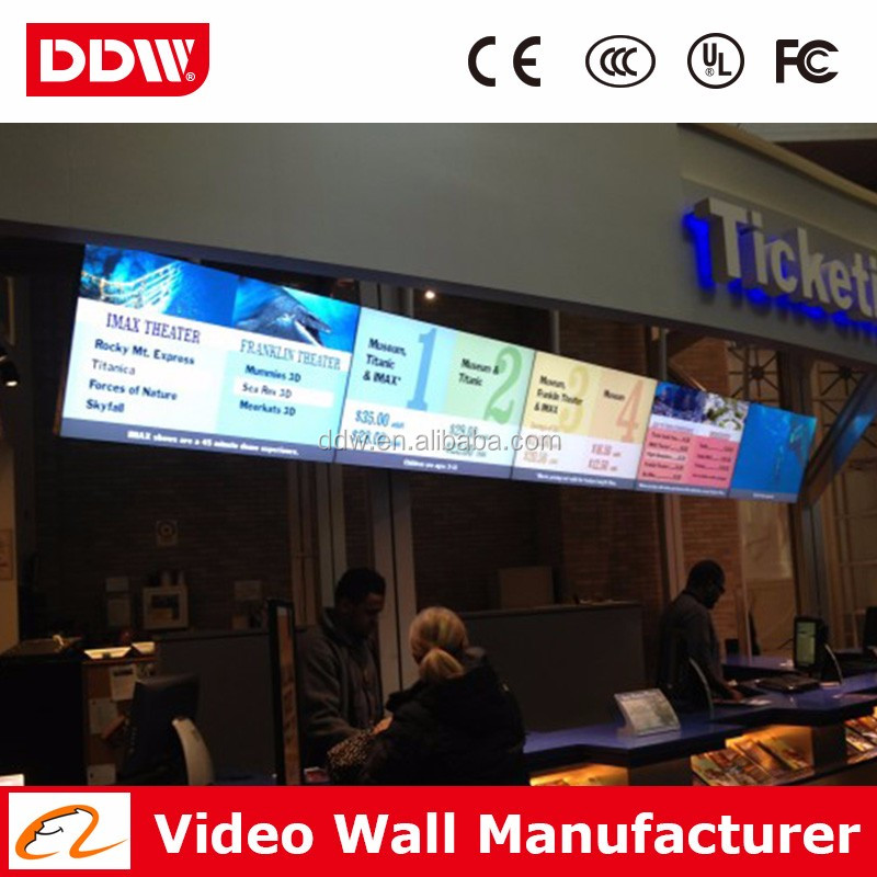 China wholesale 47 inch LG 4.9mm bezel super narrow bezel lcd promotional price DDW-LW4702