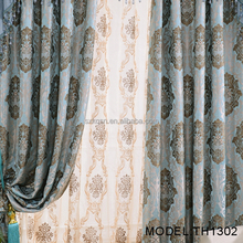 China wholesale custom window for home royal jacquard style curtain