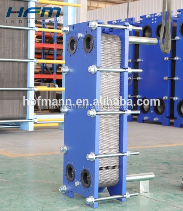 Carbon frame or Stainless steel frame plate and frame heat exchanger design
