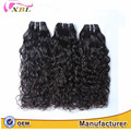High quality brazilian virgin water wave unprocessed virgin human hair 3bundle for black woman