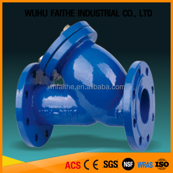 DIN3202F1 Standard Y Type Sea Water Strainer For Water Processing